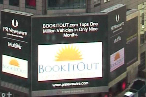 BookItOut.com Tops One Million Vehicles In Only Nine Months